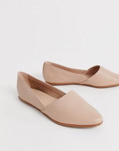 Розовые туфли из мягкой кожи на плоской подошве ALDO Blanchette - Розовый