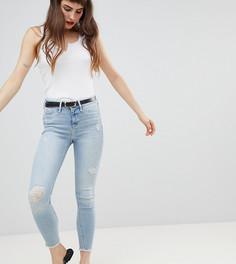 Рваные джинсы скинни River Island Molly - Синий
