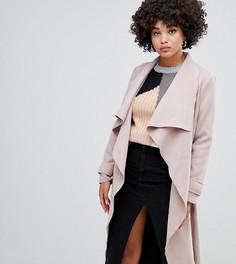 Светло-бежевое пальто Missguided - Бежевый