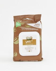 Очищающие салфетки для лица с кокосом Yes To, 30 шт - Бесцветный