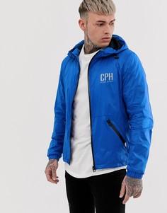 Синяя легкая куртка Blend - Синий