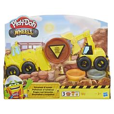 Игровой набор пластилина Экскаватор Play Doh