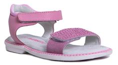 Туфли летние для девочки розовые Barkito