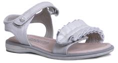 Туфли для девочки серебряные Barkito