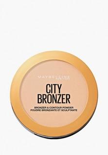 Пудра Maybelline New York FACESTUDIO CITY BRONZER, 100, холодный бронзовый, 8 г FACESTUDIO CITY BRONZER, 100, холодный бронзовый, 8 г