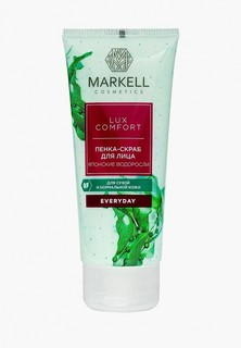 Скраб для лица Markell Markell 16678 ПЕНКА-СКРАБ ДЛЯ ЛИЦА ЯПОНСКИЕ ВОДОРОСЛИ, 100 МЛ
