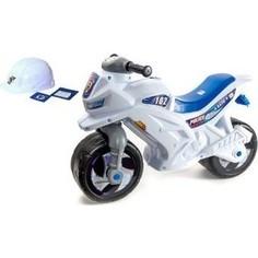 Каталка ORION TOYS Мотоцикл 2-х колесный+шлем (501в2)