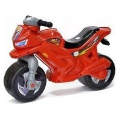 Каталка ORION TOYS Мотоцикл 2-х колесный, красный, звук (ОР501в3Кр)