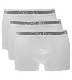Комплект трусов Комплект из трех трусов-боксеров белого цвета Calvin Klein
