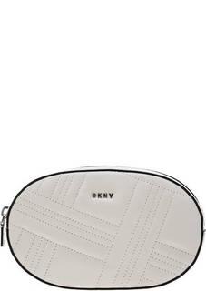 Сумка Стеганая поясная сумка из натуральной кожи Dkny