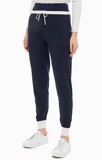 Брюки Синие брюки джоггеры с карманами Stefanel