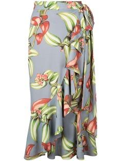 Patbo юбка с оборками