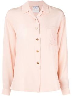 Chanel Vintage рубашка с длинными рукавами