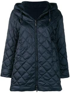 Max Mara стеганая куртка с капюшоном