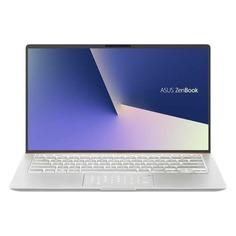 """Ноутбук ASUS Zenbook UX433FN-A5077T, 14"""", Intel Core i5 8265U 1.6ГГц, 8Гб, 256Гб SSD, nVidia GeForce Mx150 - 2048 Мб, Windows 10, 90NB0JQ4-M04640, серебристый"""