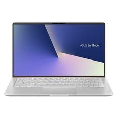 """Ноутбук ASUS Zenbook UX333FA-A3112T, 13.3"""", Intel Core i5 8265U 1.6ГГц, 8Гб, 256Гб SSD, Intel UHD Graphics 620, Windows 10, 90NB0JV2-M04140, серебристый"""