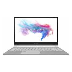 """Ноутбук MSI PS42 Modern 8RA-071RU, 14"""", IPS, Intel Core i7 8565U 1.6ГГц, 16Гб, 256Гб SSD, nVidia GeForce MX250 - 2048 Мб, Windows 10, 9S7-14B322-071, серый"""