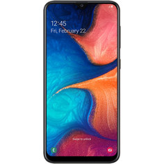 Смартфон Samsung Galaxy A20 32GB Black (2019)
