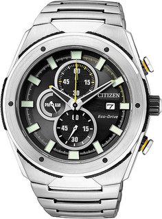 Японские мужские часы в коллекции Eco-Drive Мужские часы Citizen CA0155-57E