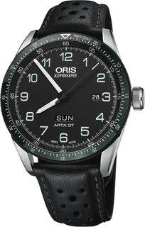 Швейцарские мужские часы в коллекции Calobra Мужские часы Oris 735-7706-44-94LS