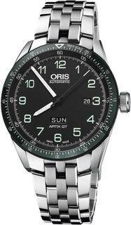 Швейцарские мужские часы в коллекции Calobra Мужские часы Oris 735-7706-44-94MB
