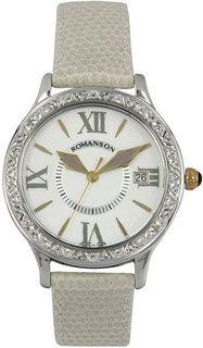 Женские часы в коллекции Giselle Женские часы Romanson RL1222QLC(WH)GR