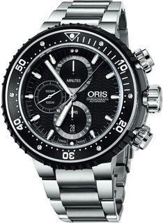 Швейцарские мужские часы в коллекции ProDiver Мужские часы Oris 774-7727-71-54-set