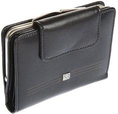 Кошельки бумажники и портмоне Sergio Belotti 1695-west-black