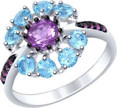 Серебряные кольца Кольца SOKOLOV 92011398_s