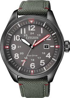 Японские мужские часы в коллекции Eco-Drive Мужские часы Citizen AW5005-39H