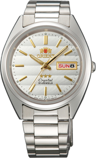 Японские мужские часы в коллекции 3 Stars Crystal 21 Jewels Мужские часы Orient AB00007W