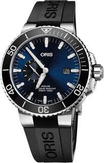 Швейцарские мужские часы в коллекции Aquis Мужские часы Oris 743-7733-41-35RS