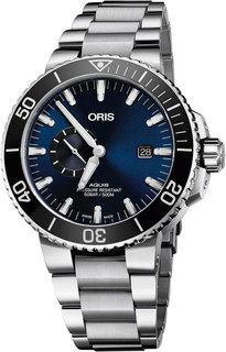 Швейцарские мужские часы в коллекции Aquis Мужские часы Oris 743-7733-41-35MB