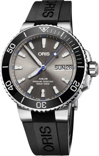 Швейцарские мужские часы в коллекции Aquis Мужские часы Oris 752-7733-41-83RS