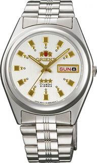 Японские мужские часы в коллекции 3 Stars Crystal 21 Jewels Мужские часы Orient AB04003W