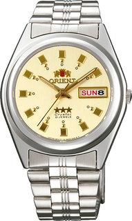 Японские мужские часы в коллекции 3 Stars Crystal 21 Jewels Мужские часы Orient AB04003C