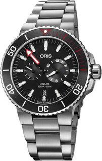 Швейцарские мужские часы в коллекции Aquis Мужские часы Oris 749-7734-71-54-set