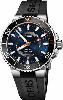Швейцарские мужские часы в коллекции Aquis Мужские часы Oris 735-7734-41-85RS