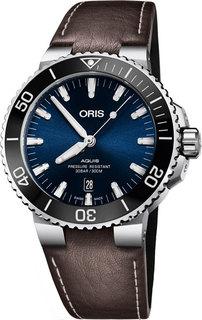 Швейцарские мужские часы в коллекции Aquis Мужские часы Oris 733-7730-41-35LS