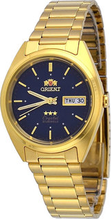 Японские мужские часы в коллекции 3 Stars Crystal 21 Jewels Мужские часы Orient AB00002D
