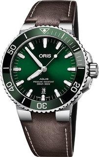 Швейцарские мужские часы в коллекции Aquis Мужские часы Oris 733-7730-41-57LS