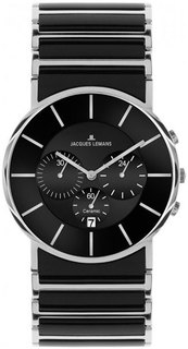 Мужские часы в коллекции High Tech Ceramic Мужские часы Jacques Lemans 1-1815A