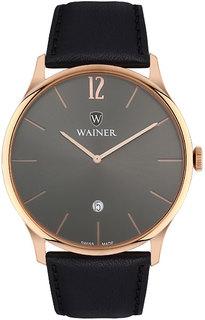 Швейцарские мужские часы в коллекции Bach Мужские часы Wainer WA.11011-H