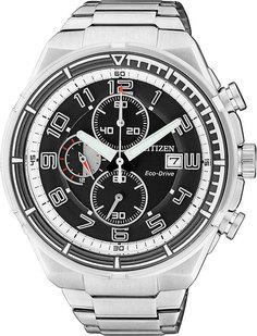 Японские мужские часы в коллекции Eco-Drive Мужские часы Citizen CA0490-52E