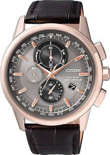 Японские мужские часы в коллекции Radio-Controlled Мужские часы Citizen AT8113-12H