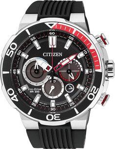Японские мужские часы в коллекции Sports Мужские часы Citizen CA4250-03E