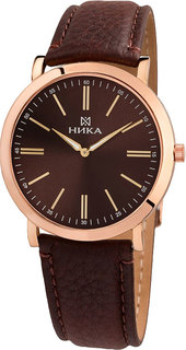 Золотые мужские часы в коллекции SlimLine Мужские часы Ника 0100.0.1.65B Nika