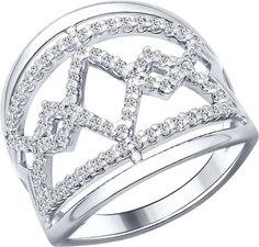Серебряные кольца Кольца SOKOLOV 94012142_s