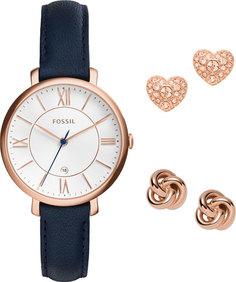 Женские часы в коллекции Jacqueline Женские часы Fossil ES4140SET