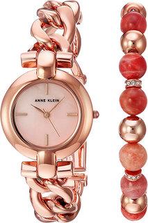 Женские часы в коллекции Ring Женские часы Anne Klein 2836SUNS